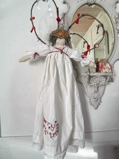 Large handmade angel doll