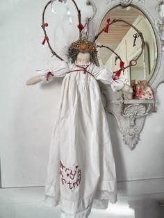Large handmade angel doll