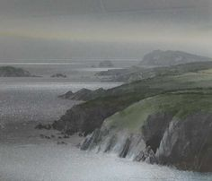 Naomi Tydeman RI, Grey Day Towards Ramsey Island
