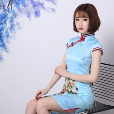 Cheongsam chinese fashion dresses https://www.ichinesedress.com/