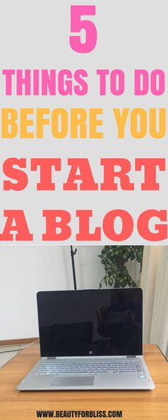 My desire to start a money making blog made me research and dig for information from successful bloggers. Even though there are a lot of ideas and tips on how to start a blog for beginners, this information has been helpful in positioning my blog for success. These are the steps that helped me start my Wordpress blog on a good note. If you are working on starting a blog, do these five things before you proceed. Make Money Blogging, Money Saving Tips, Earn Money, Make Blog, How To Start A Blog, Blog Topics, Good Notes, Financial Tips, Blogger Tips