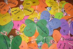 Valentine Lollipop Cards. Kids Butterfly With Lollipop Valentine Craft  Dagmars Home