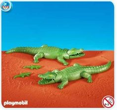 Amazon.com: Playmobil Alligators: Toys & Games