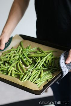 Paahdetut vihreät pavut My Cookbook, Low Carb Recipes, Asparagus, Green Beans, Side Dishes, Food And Drink, Meals, Vegan, Dinner