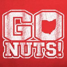 Go Nuts T Shirt Ohio Jersey Football State Basketball Braxton Buckeyes Miller   eBay