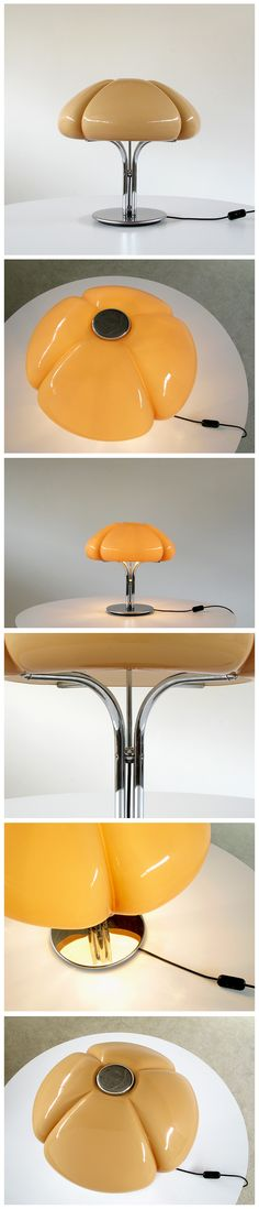 Gae Aulenti, Table Lamp Quadrifoglio by Guzzini