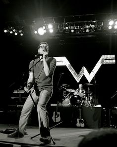 Weezer was the first band I listened to outside of my family's preferences. I finally got to see them in 2018 in Auburn, WA. Music Love, Music Is Life, Good Music, My Music, Rivers Cuomo, The Wombats, Indie, Jazz, Weezer