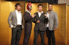 Akatsuki - YAMATO, Shingo Takagi, Super Shenlong III & Punch Tominaga