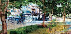 Rothschild Boulevard, Tel Aviv, Israel, Rich History #Tel Aviv #Israel