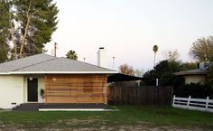 added wood slats ranch exterior - Google Search