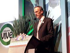 <p>Chihuahua, Chih.- En la conferencia magistral inaugural del Segundo Congreso Mundial de Derecho del Trabajo, Seguridad Social y Productividad, el director