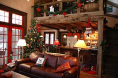 When I'm rich and I have a winter cabin... this is what it will look like inside.
