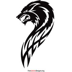 Wolf Tattoos ❤ liked on Polyvore featuring accessories and body art