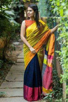 d62649f15e5bee 64 Top Cotton sarees images in 2019