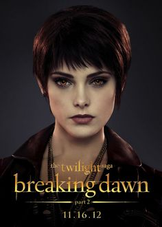 "Ashley Greene is ""Alice Cullen"" in 'The Twilight Saga: Breaking Dawn – Part 2' God I love her."