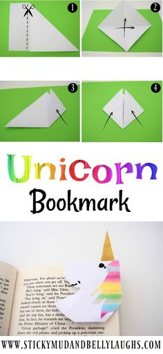 The craft box is open again and this week we are doing 5 minute crafts! We have been making a Unicorn bookmark come and check it out! The post 5 Minute Craft Kids Origami Unicorn Bookmark appeared first on Easy Crafts. Diy Crafts To Do, Creative Crafts, Kids Crafts, Easy Crafts, Craft Projects, Arts And Crafts, Paper Crafts, Craft Kids, Preschool Crafts