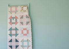 Low Volume Churn Dash - Hyacinth Quilt Designs