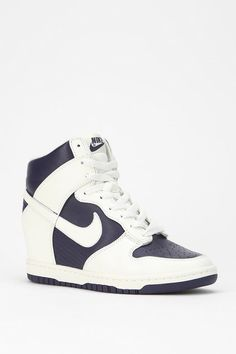 UrbanOutfitters.com > Nike Fast Love High-Top Sneaker $120.00 - These would make an awesome custom paint job~