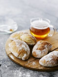 Gluten Free Recipes, Bread Recipes, Finnish Recipes, Good Food, Yummy Food, Bread Rolls, Baked Goods, Bakery, Tasty