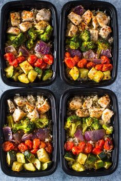 15 delicious and healthy chicken meal prep bowls. 15 delicious and healthy chicken meal prep bowls - My Mommy Style. embrace the mom you are Lunch Meal Prep, Meal Prep Bowls, Healthy Meal Prep, Healthy Snacks, Healthy Eating, Healthy Recipes, Keto Recipes, Veggie Meal Prep, Meal Prep With Chicken