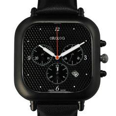 Orolog OC1 Chronograph by Jaime Hayon - black/black