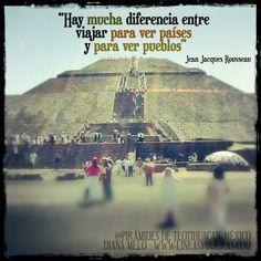 Jean Jacques Rosseau #Travel #Quotes #Turismo #viajeroboricua #frases