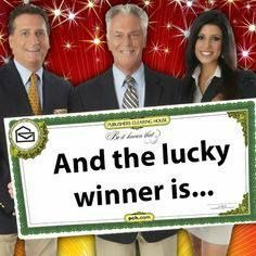Jan 2020 - I've Freddie haut 3 was claimed ownership to this prize 10 million dollars PCH won't you bring it home to me via prize Patrol I think you very kindly Freddy 3 Instant Win Sweepstakes, Online Sweepstakes, Win For Life, Winner Announcement, Publisher Clearing House, Congratulations To You, Winning Numbers, Thing 1, I Win