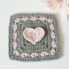 A cute litle granny with many posibilities. Make it into a baby blanket, a bedspread or maby a pillow.