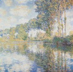 Claude Monet - Pappeln an der Epte