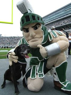 Sparty and Zeke the wonder dog :)