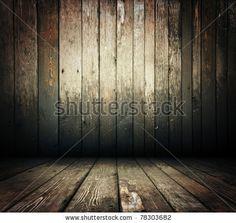 Vintage wooden room by Valentin Agapov, via Shutterstock