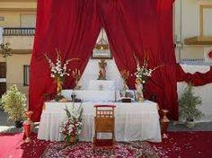 Resultado de imagen para altares para pentecostes