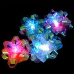 Light Up LED Gift Bow Set