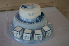 Toby's Christening Cake