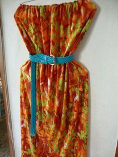 Vestido Strapless disponible en talla Md incluye cinto