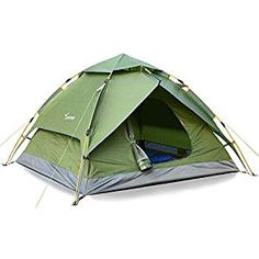 Sportneer Camping Tent Person Automatic Instant Pop Up Waterproof Camping Hiking Travel Beach Tents for Family Groups Pop Up Camping Tent, Group Camping, Camping Gear, Family Shelters, 2 Person Tent, Waterproof Tent, Coleman Camping, Beach Tent