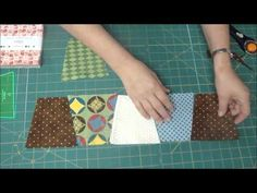 The Easiest Tumbler Quilt You'll Ever Make! [from Missouri Quilt Co.] ~ Love these!