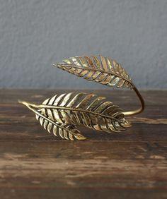 feather fern bracelet | redinfred