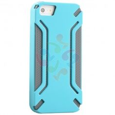 HyperGear Virgo Dual-Layered Protective Cover for iPhone 5 - Blue and Grey | RP: $24.95, SP: $18.95