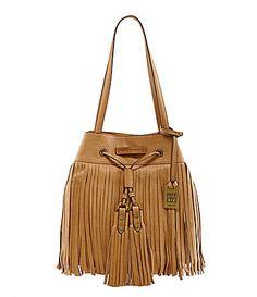 Frye Heidi Fringe Drawstring Bucket Bag #Dillards