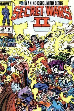 Secret Wars II #9 (Marvel Comics).
