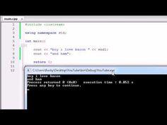 Buckys C++ Programming Tutorials - 3 - More on Printing Text