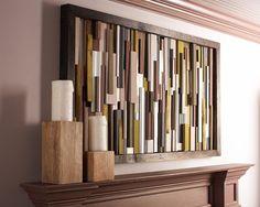 Spectacular holz wanddeko holz wanddeko selber machen wanddeko ideen Wanddeko f r ein modernes Zuhause Pinterest