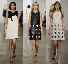 Fantasy Fashion Design: Calvin klein Resort 2015  unión de sencillez  y  e...