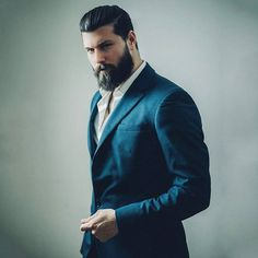 """""""If you want to make history, create your own story"""" - #madrid see you tomorrow for a short visit ❤ #style #suit #beard #suits #suitup"""