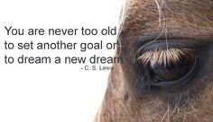 never too late...