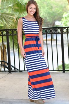 Orange   Blue Game Day Apparel - Dresses 1b659cc84