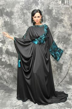 Designer Inspired Abaya 255