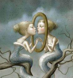 la psicologia dell'Io afferma che la realtà esteriore agisce come uno specchio sulla nostra mente, dove si vedono riflesse le nostre varie qualità