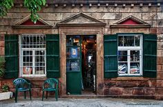General store in Portianou village. Lemnos Island, Lesvos, North Aegean_ Greece